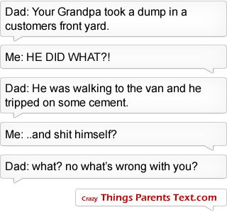 Top 10 Crazy Texts From Parents