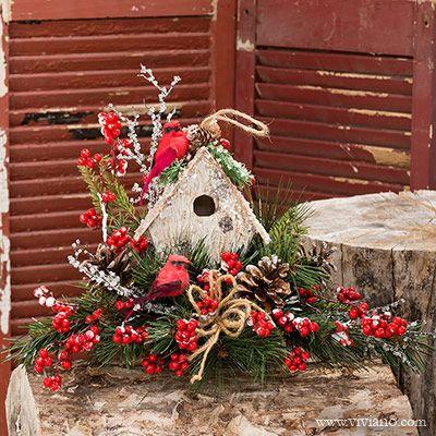 Winter Song 37416 See Viviano Com Holiday Centerpiece