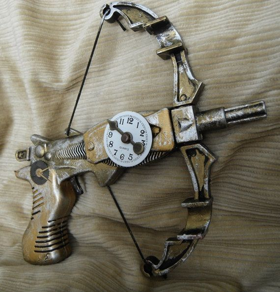 Time's Arrow Clockwork Miniature Crossbow WORKING by AgentOfChaos