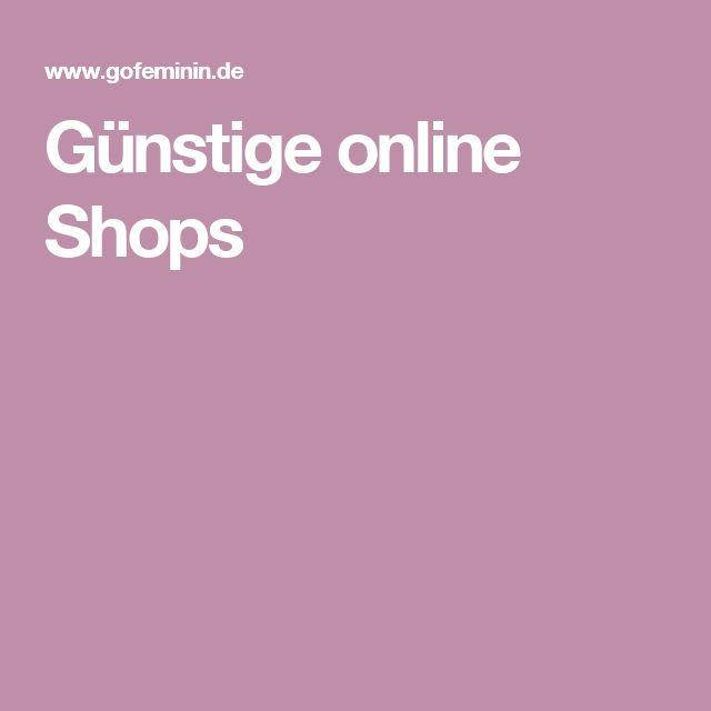 Günstige online Shops