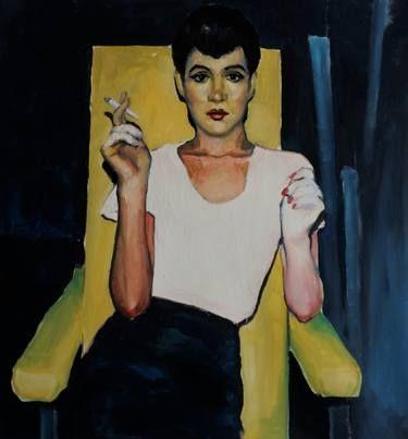 "Saatchi Art Artist Stefan Doru Moscu; Painting, ""I can keep a secret"" #art"