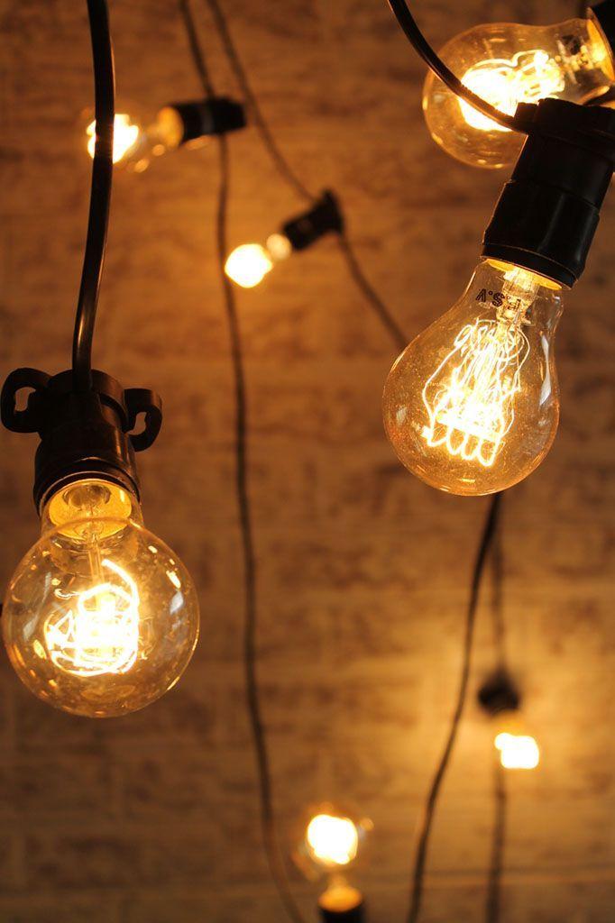 Lighting for the lower deck!           Festoon Lighting - Outdoor String Lights @ http://lightingworldbay.com #lighting