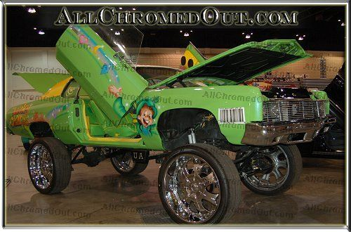 Trick Daddy Cars | Lucky Charms Donk ride, Donk car with lift