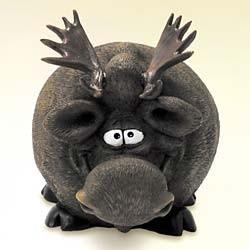 Moose piggy bank!