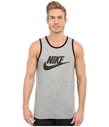 b3d7f1fadf290 NIKE Men s Ace Logo Tank Top at Amazon Men s Clothing store