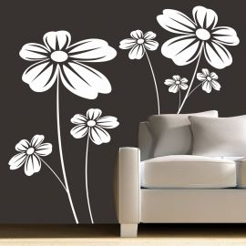 Sticker decorativ Flori Ambientale