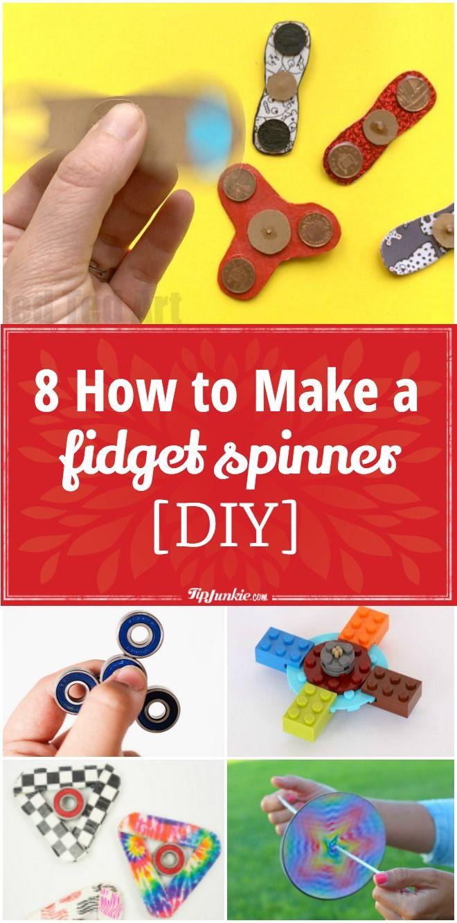 8 How to Make a Fidget Spinner [DIY]