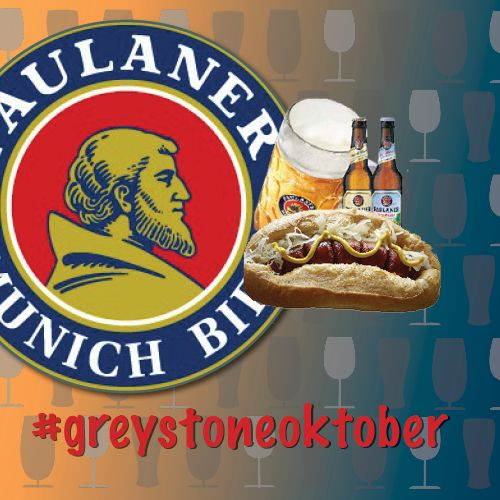 Have you bagged yourself a free stein? What about our delicious $8 kransky? Send us a photo using #greystoneoktober!