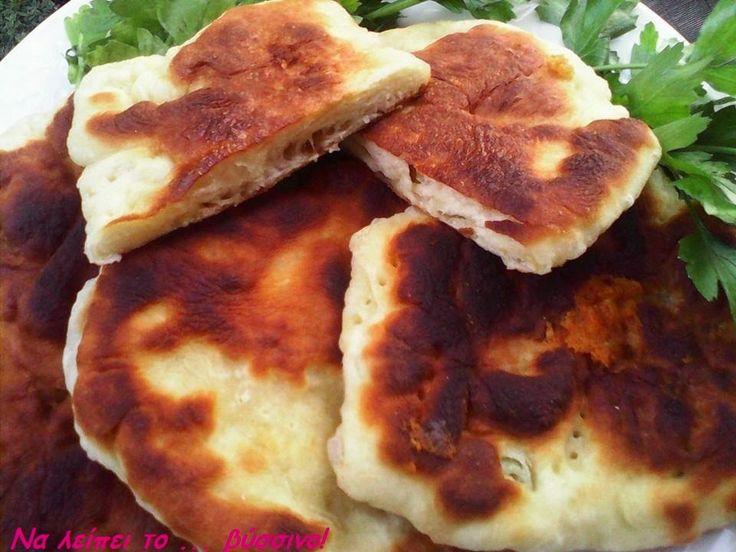 Να λείπει το ... βύσσινο!: Τηγανόψωμο με Parmigiano Reggiano