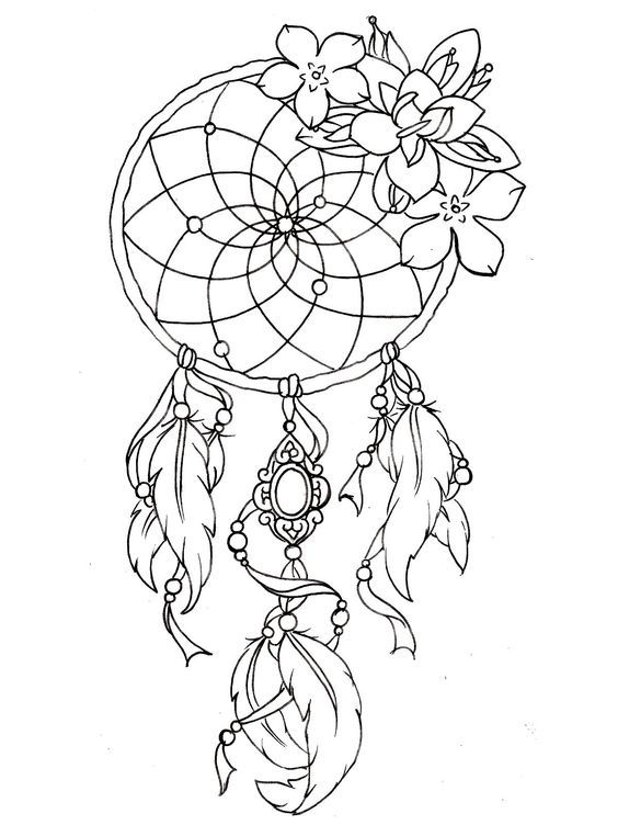To print this free coloring page «coloring-dreamcatcher-tattoo-designs», click on the printer icon at the right: