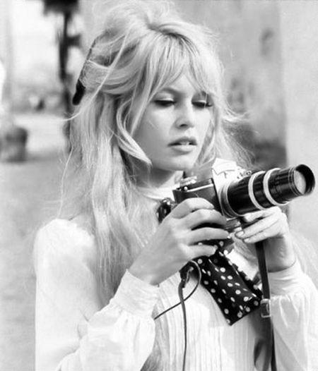 The gorgeous bangs of Brigitte Bardot
