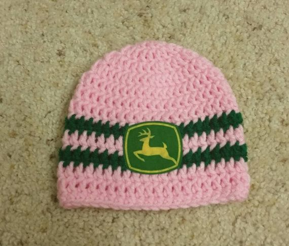 Deere Infant Hat Crochet Pattern : 1000+ images about Character hats on Pinterest John ...