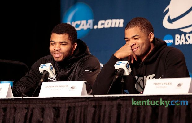 Kentucky basketball's Andrew and Aaron Harrison: Twins stay cool as pressure ... Kentucky Basketball  #KentuckyBasketball