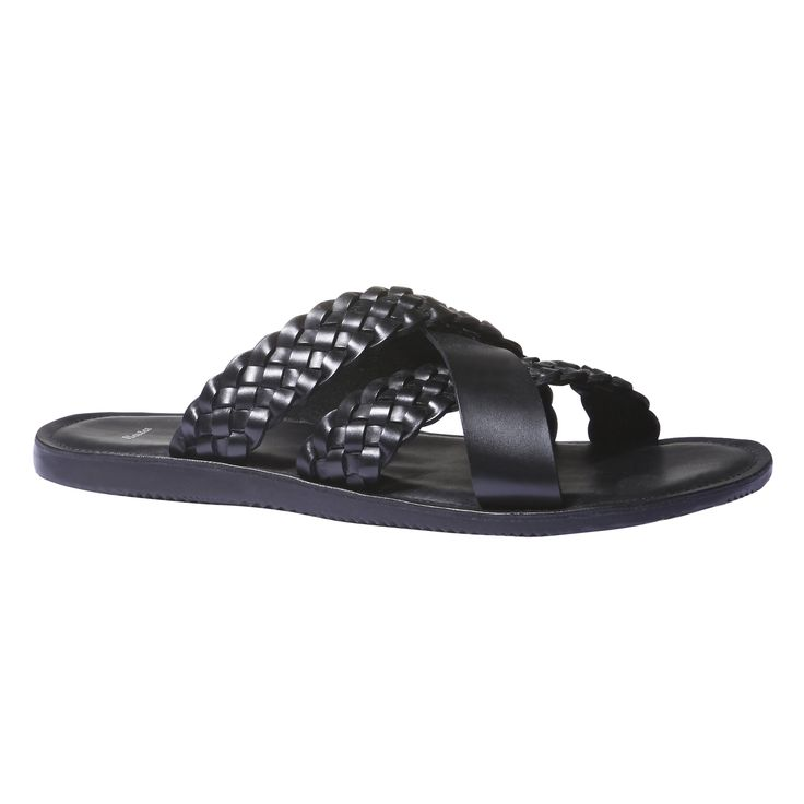 Bata leather sandals