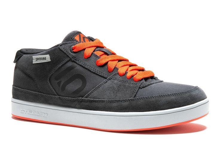 Five Ten | Spitfire Men's BMX Shoe - Dark Grey/Orange