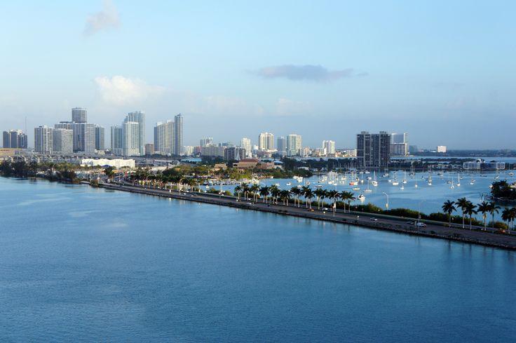 Miami & Causeway by Gary Sheaffer