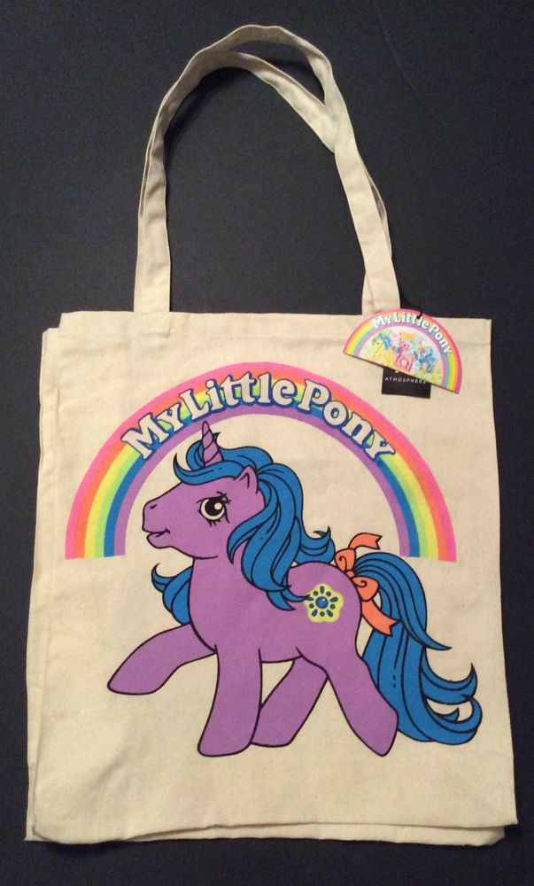 Primark My Little Pony Retro Canvas Tote Per Ping Shoulder Bag Bags Bagsss Pinterest And