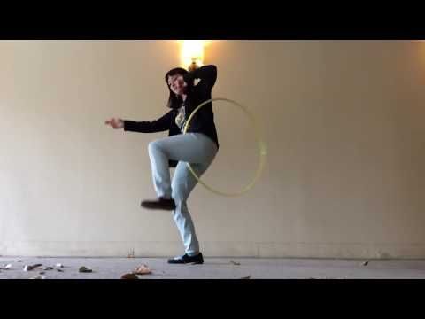 Hoop Tutorial -- No-handed Escalator to Wedgie Thingy - YouTube