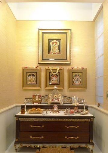 Hindu Prayer Room Design: 117 Best Images About Pooja Setup On Pinterest