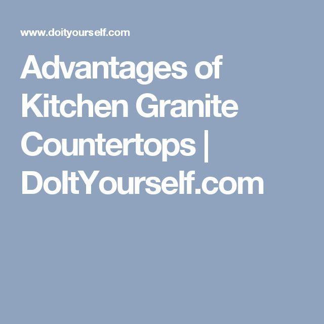 Best 25 Kitchen Granite Countertops Ideas On Pinterest