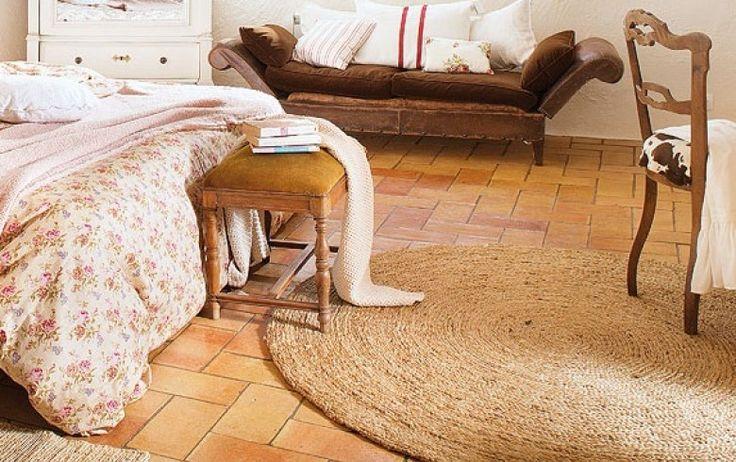 Alfombra redonda de esparto/ Run handmade rug | Bohemian and Chic