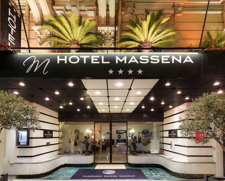 Welcome to the 4-star Hotel Masséna Nice