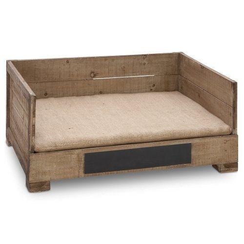 Ideas creativas de camas para perros hechas con palets for Camas para perros de madera
