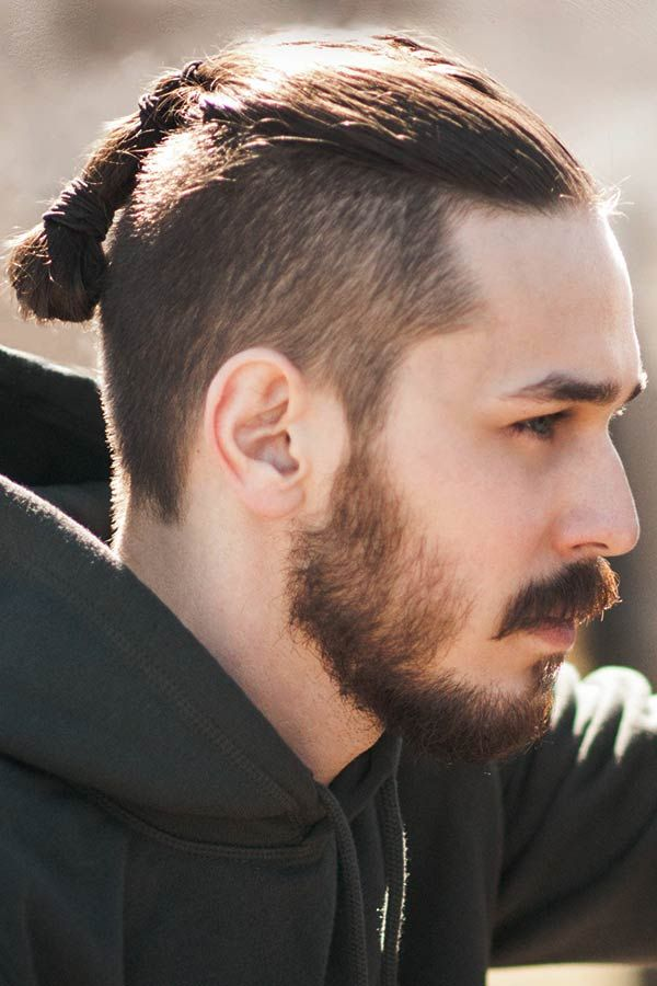 Step By Step Tutorial On How To Style A Slicked Back Undercut Undercut Long Hair Undercut Hairstyles Long Hair Styles Men