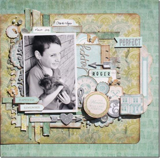 Kaisercraft - Heirloom - Wendy Smith @ Anna's Craft Cupboard