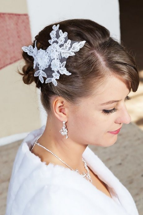 Haarschmuck Braut Kurze Haare Haarreif Fascinatorbraut Hochzeit