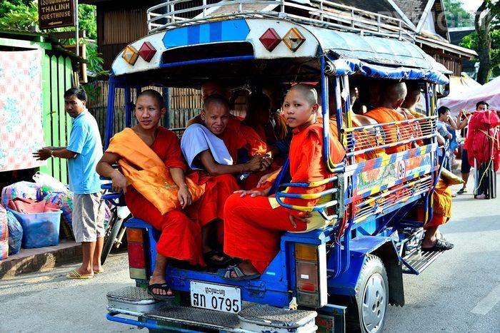 Songthaew Transport - Luang Prabang