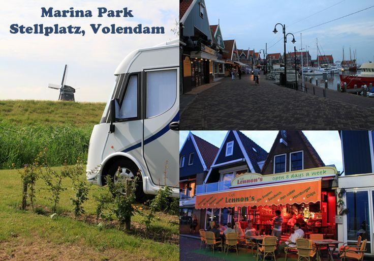 Marina Park Stellplatz, camperstop, Volendam, Netherland / Holland