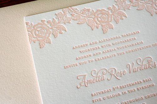 baptism invitations by things are better with a parrott