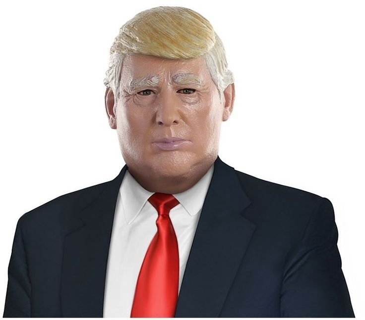 Trump all your opponents and tell it how it is in the Candidate Mask! Get everyone fired-up as you debate all this seasons hottest political topics with this mask featuring a comb-over style hair-do.