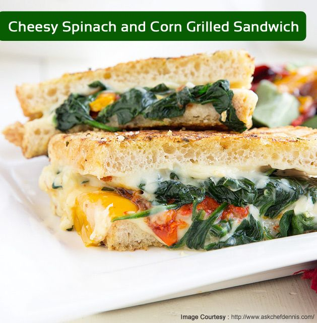 25 best monsoon special images on pinterest monsoon sanjeev cheese sandwich made healthy with spinach and corn by chef sanjeev kapoor for ingredients forumfinder Image collections