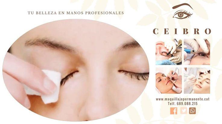 Olvídate de maquillar y desmaquillar. Evita las arrugas prematuras cuidando tu piel con el #maquillaje #permanente en #Barcelona Citas concertadas  689.088.215 Llama ahora y luce perfectamente maquillada siempre!