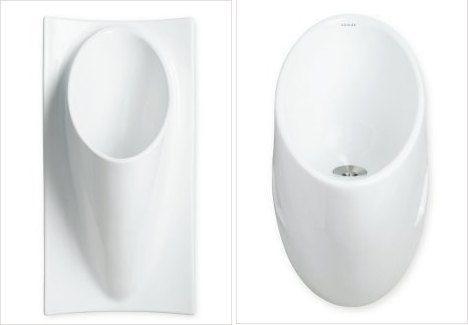 No Splash, No Flush Urinals from Kohler : TreeHugger