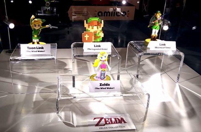 Zelda 30th Anniversary amiibo spotted in the wild
