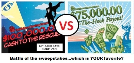 I want to win 100,000,00: Pch Favorite S, Win Win, Pch Superfan, Smile, Win 100 000 00