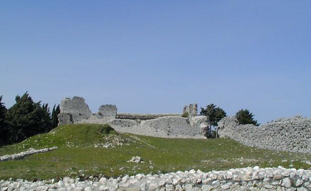 Il castello di Civita Superiore di Bojano