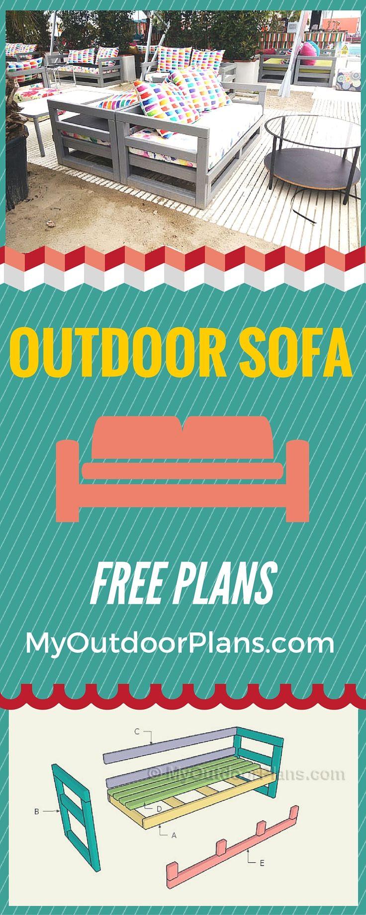 best 25 outdoor sofas ideas on pinterest diy outdoor furniture