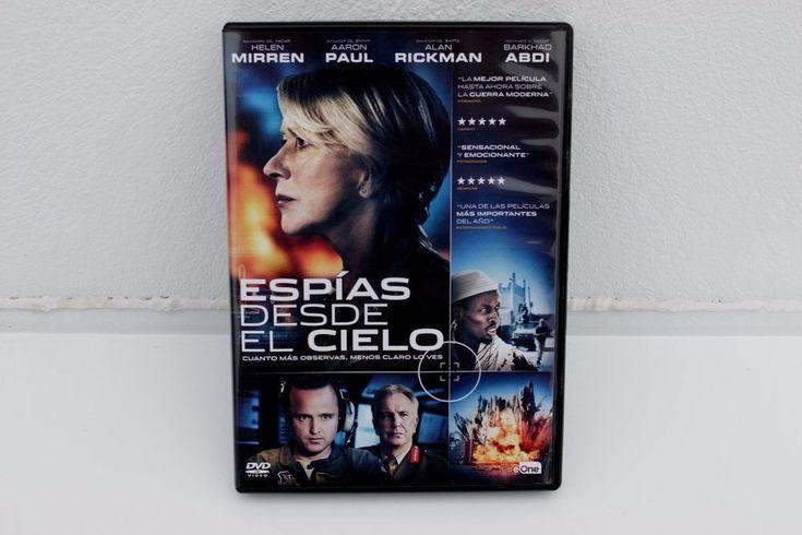 ESPÍAS DESDE EL CIELO - DVD - HELEN MIRREN - AARON PAUL - ALAN RICKMAN