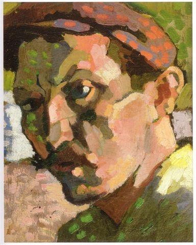 Self portrait of Andre Derain