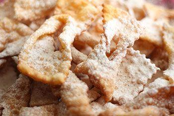 Frappe o chiacchiere di carnevale al microonde   Ricette Microonde