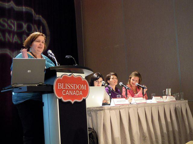 Blissdom Canada 2011 | Flickr - Ann Douglas leading a great panel