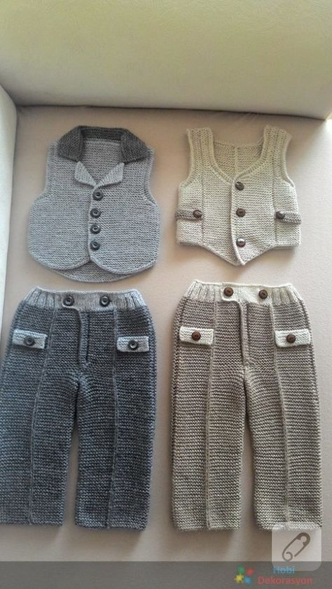 erkek-bebek-orgu-pantolon-yelek-takimi.jpg (474×842)