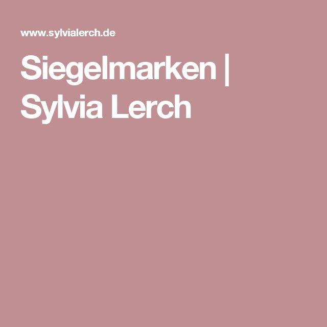 Siegelmarken | Sylvia Lerch