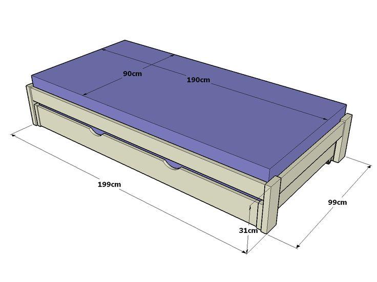 M s de 25 ideas incre bles sobre camas individuales de for Camas individuales juveniles