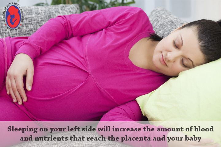The best #sleep #position during #pregnancy is sleep on side