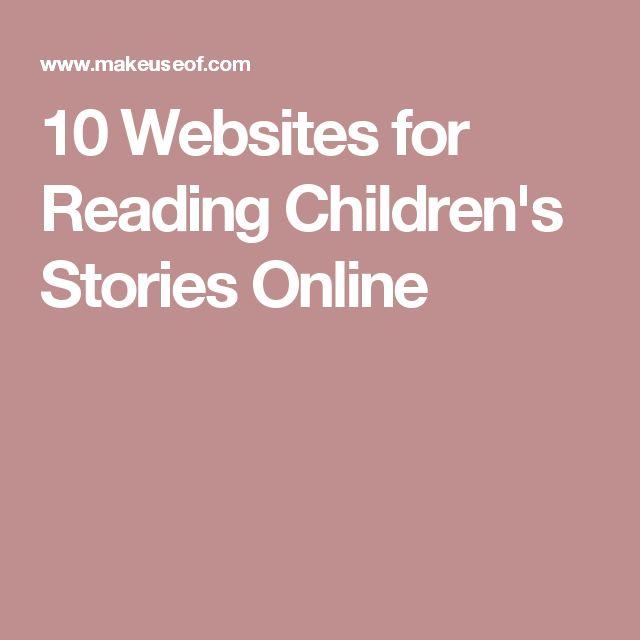 10 Websites for Reading Children's Stories Online